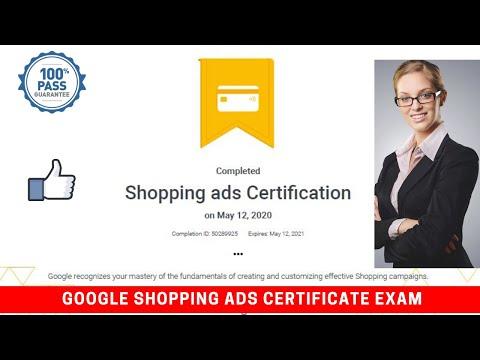 Google Shopping Ads Exam Certification Guide | FREE Shopping ...