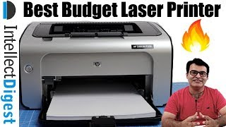 Best Budget Laser Printer For Personal Use- HP P1108, Low Cost Durable Printer