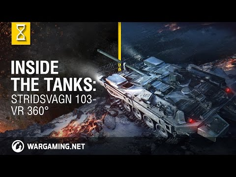 Inside the Tanks: Der Stridsvagn 103 in VR (360°)