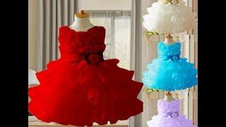 Пышные нарядные платья для девочек фото