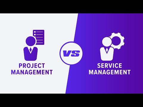 Project Management vs. Service Management (PMP vs ITIL ...