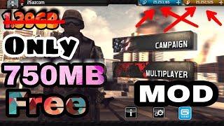 modern combat 3 mod apk free download