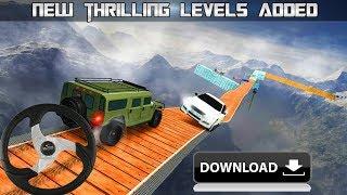 कार स्टंट का खतरनाक गेम 😱😱😱 आप भी अपने मोबाइल मे डाउनलोड करें फ्री
