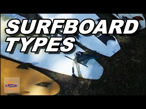 Different Surfboard types: A Beginner Tutorial