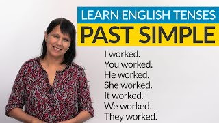 Learn English Tenses: PAST SIMPLE