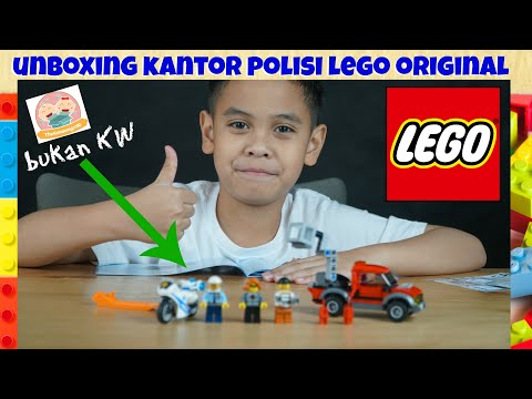 Unboxing LEGO POLICE STATION | TheRempongsHD