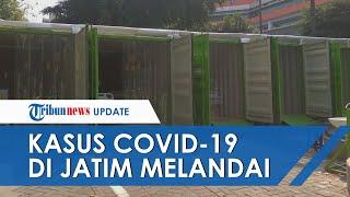 Kasus Covid 19 Gejala Parah di Jatim Melandai, IGD dan Triase IGD RSUD dr Soetomo Terlihat Kosong