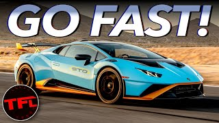 The Lamborghini Huracán STO Is So Fast It Scared The ... Out Of Me!
