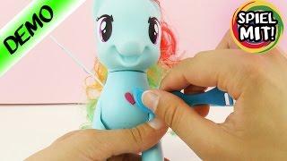 Rainbow Dash My little Pony macht Saltos | Pony mit Rubbeltattoos dekorieren und stylen | Rainbow