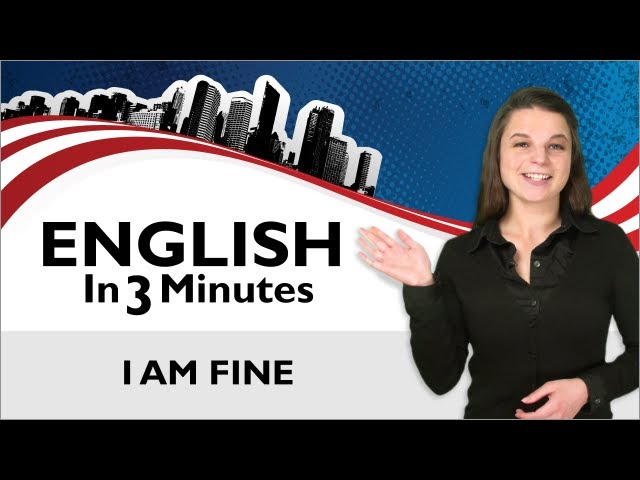 Video Pronunciation of how are you? in English