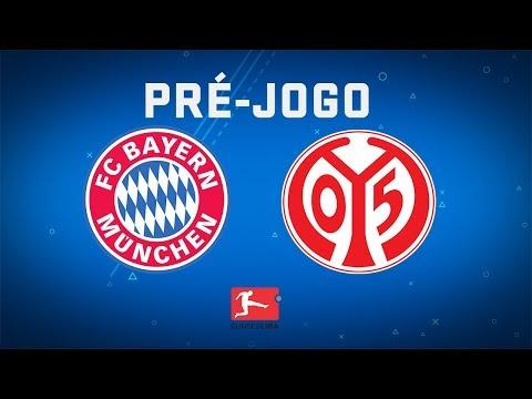 COUTINHO TITULAR! Veja o pré-jogo de Bayern de Munique x Mainz pela Bundesliga