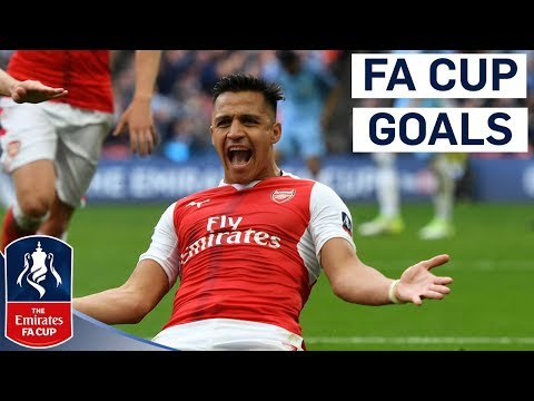 All of Alexis Sanchez's FA Cup Goals for Arsenal! | Emirates FA Cup