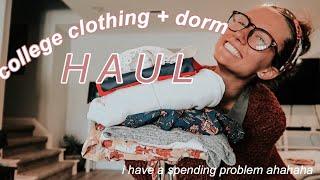 College Haul: Clothes + Dorm Items