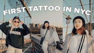 Getting A TATTOO + PIERCINGS + SHOOTING FILM In NEWYORK!