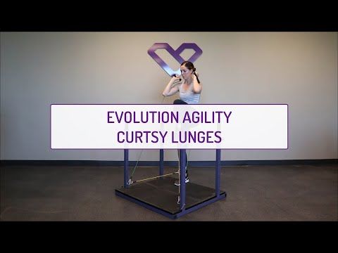 Evolution Agility Curtsy Lunges
