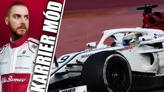 🏆 F1 2018 💥 AI: 110 - MÁSODIK SZEZON - SAUBER KARRIER #19