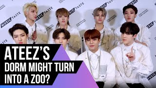 ATEEZ Answer ATINY Questions From Twitter