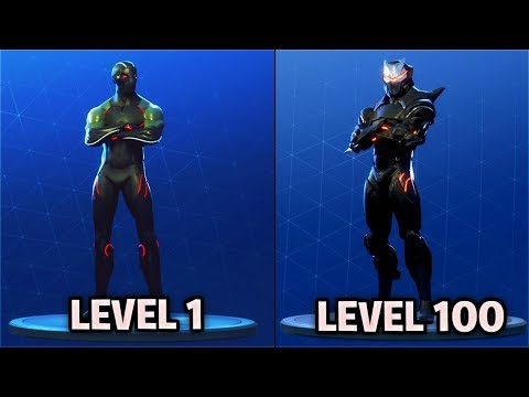 "Level 65 ""OMEGA MASK"" UNLOCKED! Fortnite Battle Royale Season 4 Battle Pass TIER 100 SKIN!"