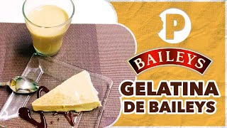 Gelatina de Baileys