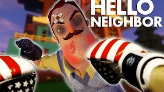 Realistic Minecraft: Hello Neighbor - Batman vs Neighbor FIGHT