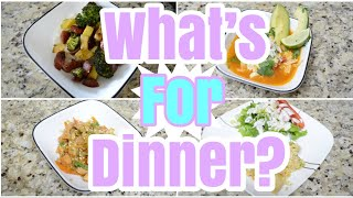 WHAT'S FOR DINNER? | Easy Weeknight Meals | Working Mom What's For Dinner | Easy Dinner Ideas