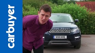 Range Rover Evoque SUV 2013 review - Carbuyer