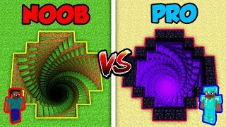 Minecraft NOOB vs. PRO: 3D MYSTERY HOLE! | AVM Shorts Animation