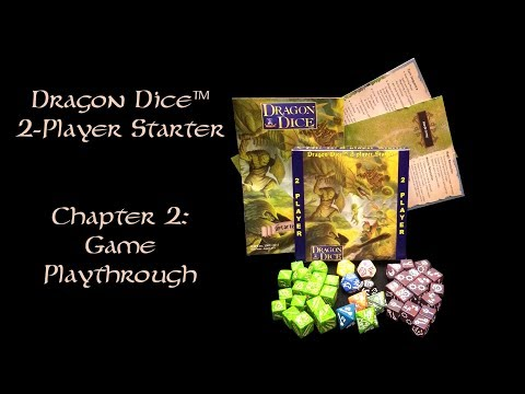 Official Dragon Dice™ 2-Player Starter (3rd Edition) - Game Playthrough