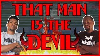 THAT MAN IS THE DEVIL!!  - NBA 2K16 Head to Head Blacktop Gameplay