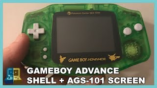 GameBoy Advance   Shell + Screen (AGS 101) Replacement