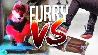 Furry Vs. Skateboarding
