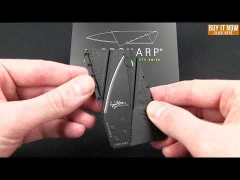 "Iain Sinclair CardSharp V2 Credit Card Utility Knife (2.5"" Satin)"