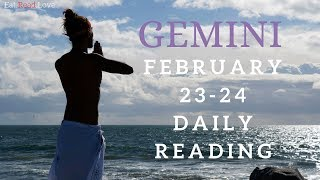 "GEMINI SOULMATE ""HAVE YOU RIDDEN A BIKE?"" FEB 23-24 DAILY TAROT READING"