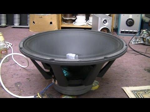 "Extreme Speaker Test 21"" Driver Pop"