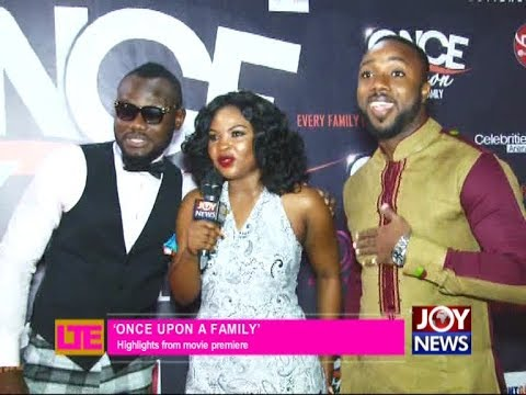 'Once Upon a Family'- Let's Talk Entertainment on JoyNews (3-4-18)