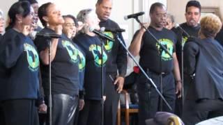 Mandela Memorial at Oakland City Hall - Vukani Mawethu