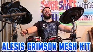 Alesis Crimson Mesh Kit - Когда выперло на стриме