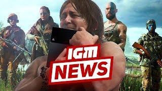 IGM News: непонятная Death Stranding и намёки на PlayStation 5