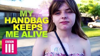 My Handbag Keeps Me Alive | Living Differently