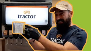 Brixing Tractor Fountain Machine