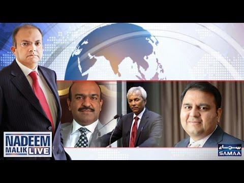 Fauj Ne Tweet Wapis Kyun Li? | Nadeem Malik Live | SAMAA TV | 10 May 2017