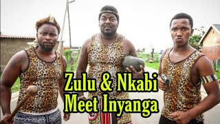So zulu is helping nkabi and taking him to the traditional doctor in quest to get nkabi a girlfriend named Bridget from JHB.