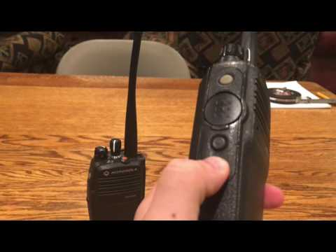 Motorola XPR 6350 Walkie Talkies (Radios) Review/Demo PART 1.
