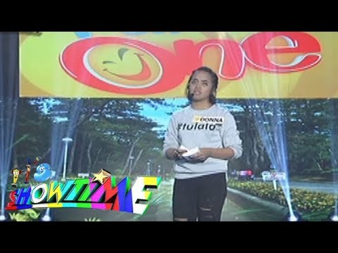 It's Showtime Funny One: Donna Cariaga