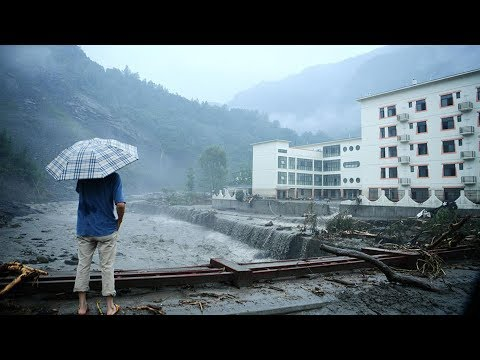 8 killed, 34,000 evacuated as torrential rain hits Sichuan Province