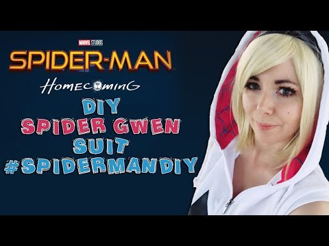 [DIY] DISFRAZ DE SPIDER GWEN HAZLO TU MISMO  🕸 #SPIDERMANDIY 🕷 SPIDERMAN HOMECOMING