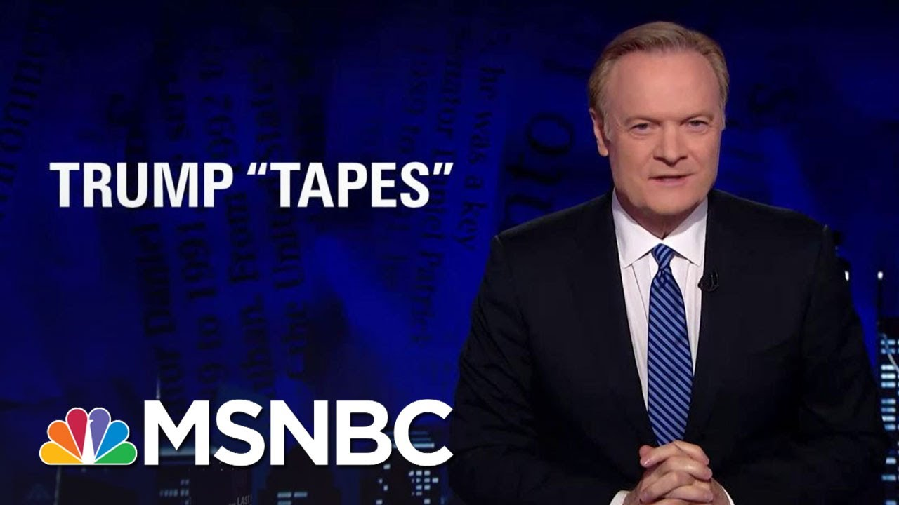 We May Not Have Heard The End Of Tapes And President Donald Trump | The Last Word | MSNBC thumbnail