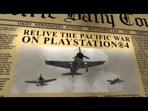 Air Conflicts: Pacific Carriers - Release Trailer PlayStation®4 (English) thumbnail