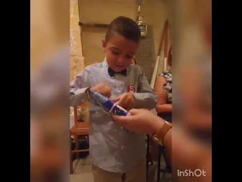 Il bambino Maltese ottiene una maglia dell'Inter per il suo compleanno