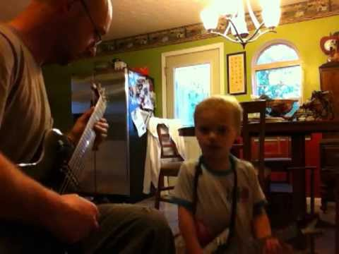 2 year old jamming to Tom Petty